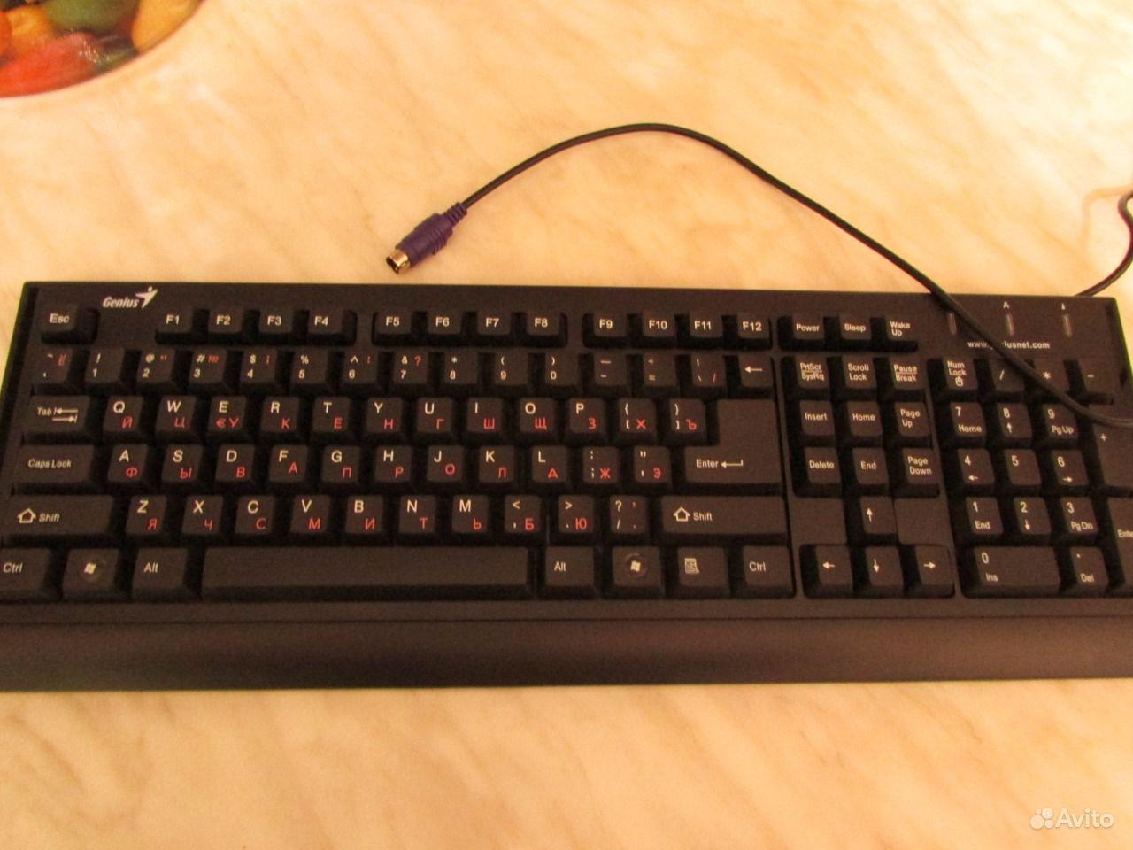Фото простой клавиатуре джениус 2