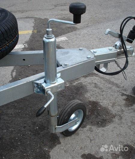Опорное колесо для лодочного прицепа