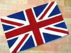 Ковер с британским флагом (все размеры.  Покрывало новое сшито по индивидуально заказу в Москве.