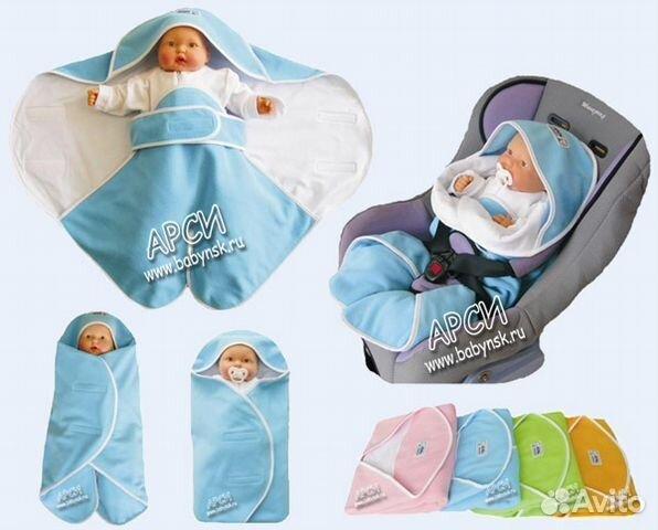 Конверт-плед для новорожденного своими руками