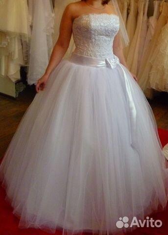 Объявление о продаже Свадебное платье в Краснодарском крае на Avito.
