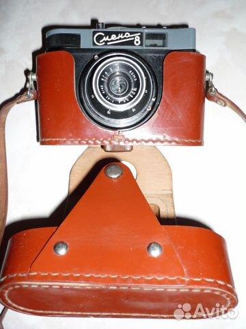 Фотоаппарат Смена 8, фотовспышка Электроника фэ-27.