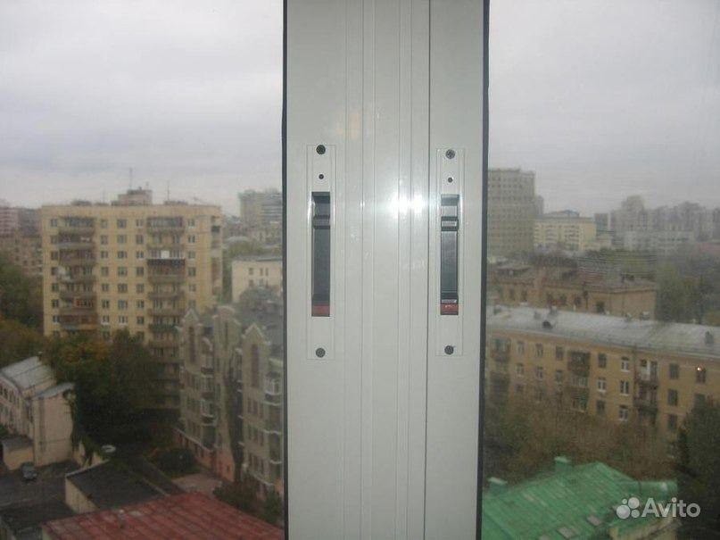 Алюминиевый профиль на балкон сломался замок.