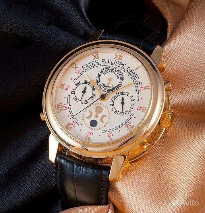 эксклюзивные часы patek philippe sky moon tourbillon качественным