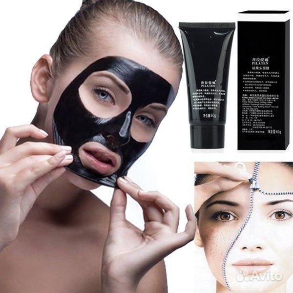 черная маска от черных в домашних условиях