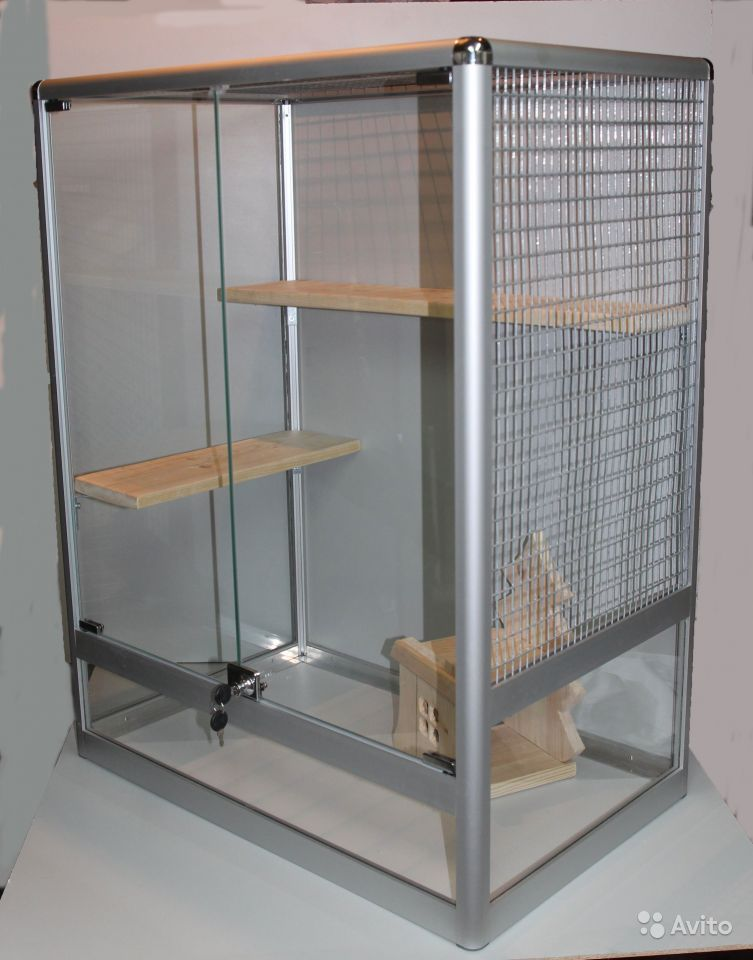 Клетки для мелких животных: шиншилл, хомяков, крыс
