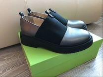 Стильные кожаные ботиночки
