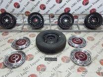 Комплект дисков+колпаки на Mercedes W123 W116