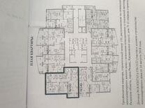 3-к. квартира, 83м², 17/25эт.