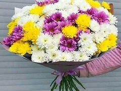 Микс букет из хризантемы с Доставка