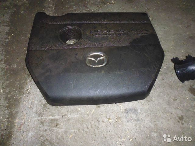 декоративная накладка на двигатель mazda 3