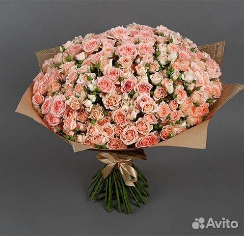 Кустовые розы купить спб