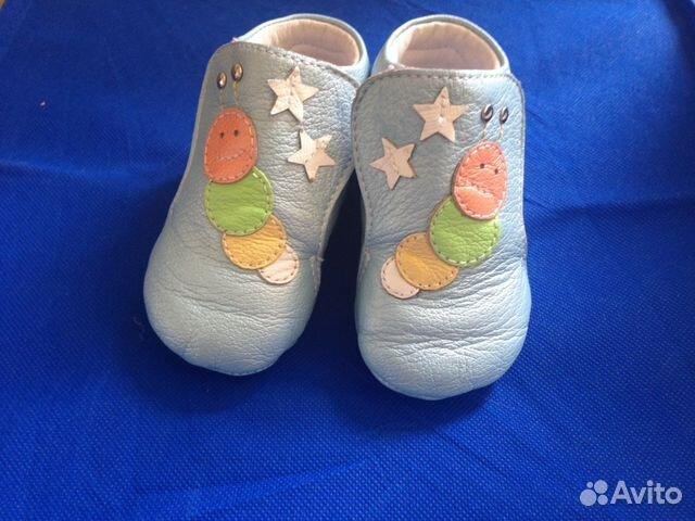 1d89572d3d63 Пинетки (ботиночки) кожаные elegami р.18 купить в Москве на Avito ...