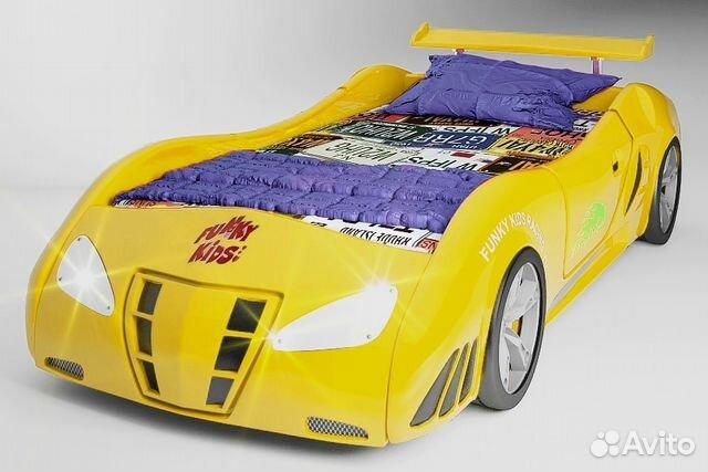 Кровать машину