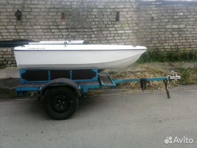 купить пластиковую моторную лодку кайман 300