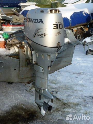 мотор на лодку хонда спб