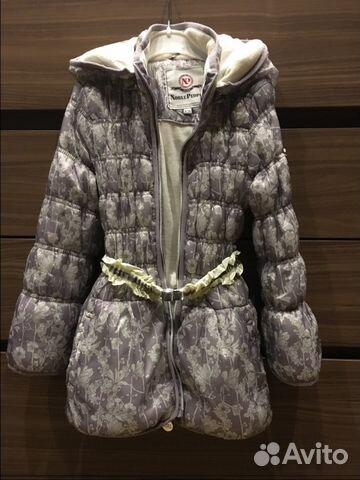 559da471ccb Продам б у демисезонное пальто Noble people 116 см купить в Москве ...