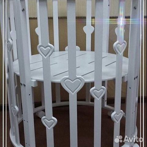 Детская кроватка-трансформер 8 в 1