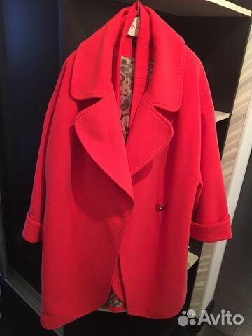6c9473ce005 Пальто демисезонное б у размер 52-54 купить в Москве на Avito ...