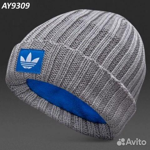 promo code 07689 3c8e5 Шапочка Adidas originals trefoil AY9309 флис