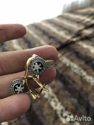 Золото Комплект бриллианты купить в Республике Дагестан на Avito ... 39b86a89a50