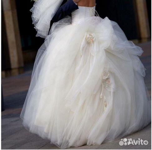 7766ca68fbe Королевское свадебное платье Британи
