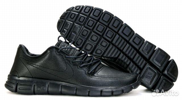 f2253986 Кроссовки nike free RUN 5.0 мужские чёрные кожаные купить в Москве ...