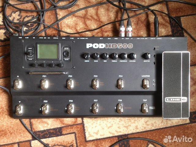 Line 6 podhd500 Гитарный Процессор + Сумка | Festima Ru - Мониторинг