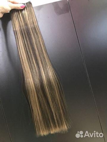 Волосы на заколках купить 8