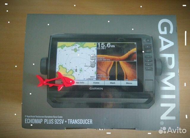 Garmin Echomap Plus 93SV 92SV с датчиком GT52HW-TM | Festima Ru