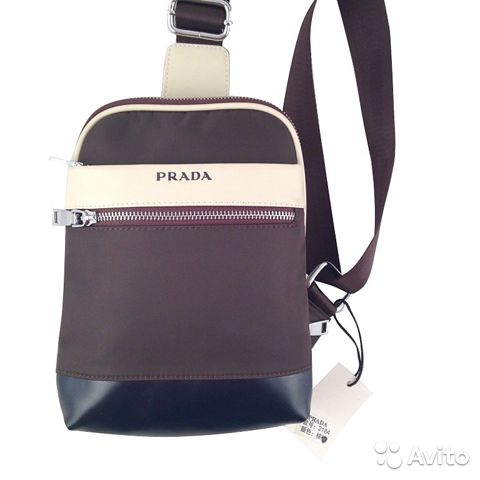 Cумка рюкзак мужская женская Prada арт.2184 купить в Москве на Avito ... e3f84e45a0e