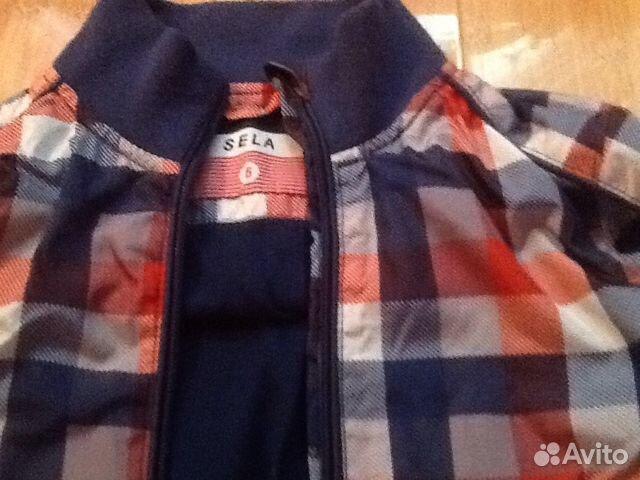 Куртка -ветровка Sela, р-110-116 89788630884 купить 2