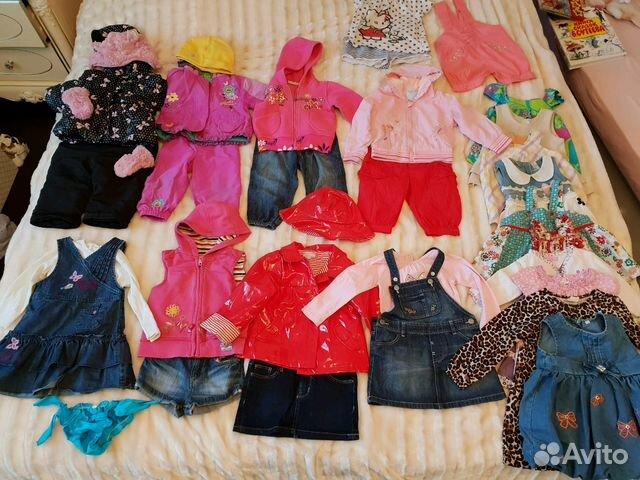 cb4e26f7e Детские вещи пакетом 74-80 (1-1,5 года) - Личные вещи, Детская одежда и  обувь - Москва, Зеленоград - Объявления на сайте Авито