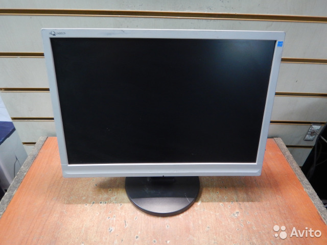 "Мониторы ЖК 19"" Aquarius TF1910W серебристые пц"