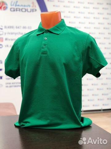 44382795fc7c497 Рубашка-поло мужская оптом, подходит для печати купить в Москве на ...