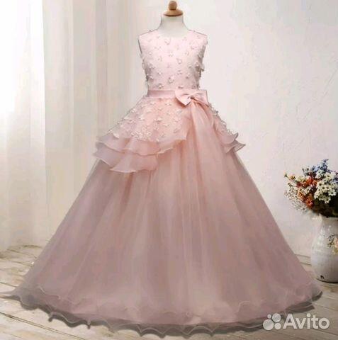 8002c9758c7 Шикарное нарядное платье для девочки купить в Москве на Avito ...