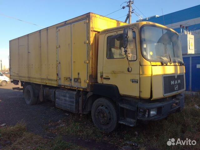 e022bad559777 Грузовик MAN купить в Санкт-Петербурге на Avito — Объявления на ...