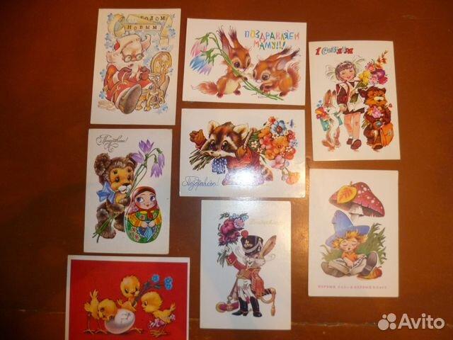 Открытки, набор открытки в.четверикова