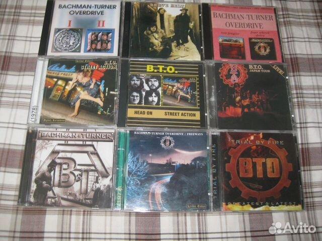 Сd - диски группы bachman-turner overdrive (вто)