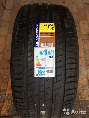 R19 255/50 Michelin Latitude Sport 3 89211101675 купить 1