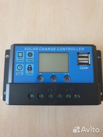 Контроллер solar 10A, для солнечных панелей 89286212893 купить 1