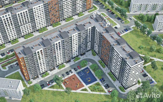 2-к квартира, 72 м², 6/13 эт. 89814708057 купить 1