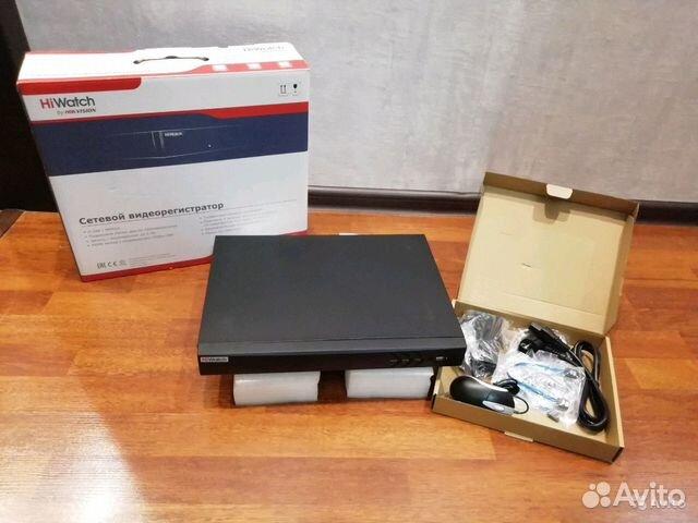 IP-Видеорегистратор Ip hiwatch ds-n308p(b)