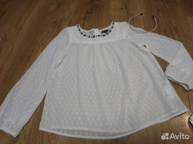 Блузка M&S на 8-10 купить 3