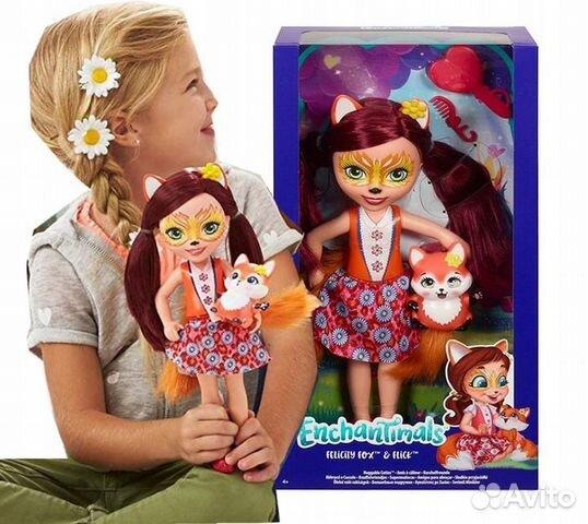 Enchantimals большая Кукла 31см в ассорт  89062132153 купить 3