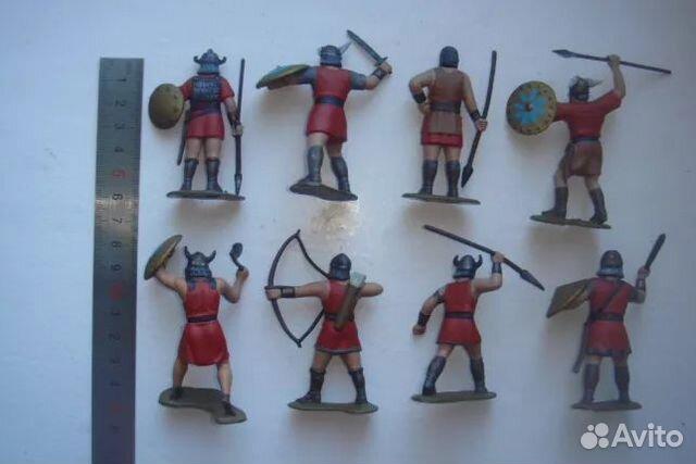 Солдатики викинги СССР