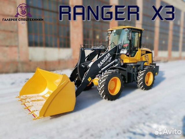 Обновленный погрузчик ranger X3, 2020 г.в купить 3