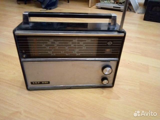 Радиоприемник VEF 201 89877193909 купить 1