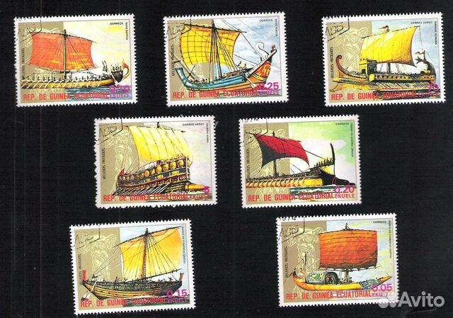 Почтовые марки Гвинеи Экваториальной 89275328672 купить 2