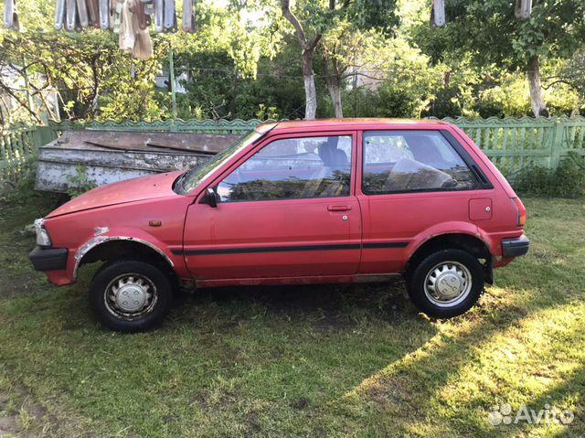Toyota Starlet, 1987  89097889984 купить 1